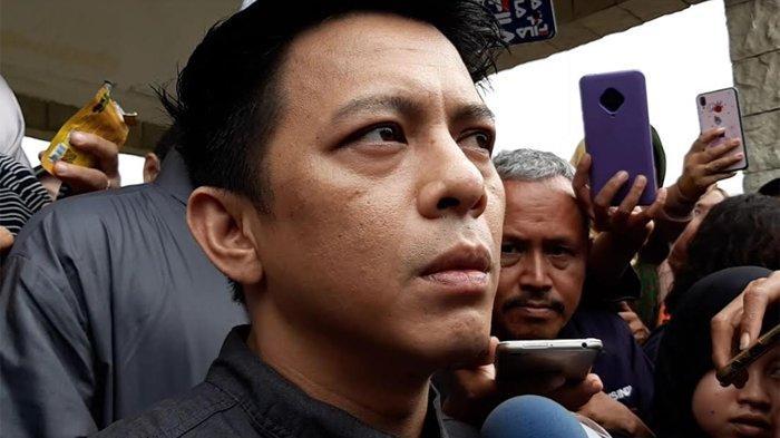 Ariel saat ditemui di komplek pemakaman San Diego Hills, Karawang, Jawa Barat, Selasa (18/2/2020).