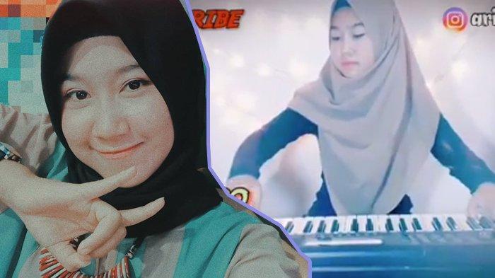 Viral Aksi Keybordist Arindi Putri, Mainkan Keyboard Ala Musik DJ, Skillnya Dilirik 2 DJ Ternama