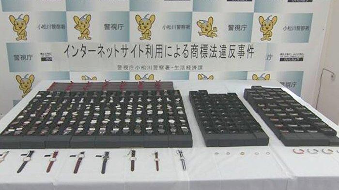 Warga Jepang Penjual Arloji Mahal Swedia yang Palsu Ditangkap Polisi