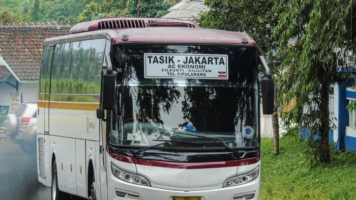 Armada Bus PO Primajasa Tetap Angkut Penumpang Mudik Sampai 5 Mei 2021