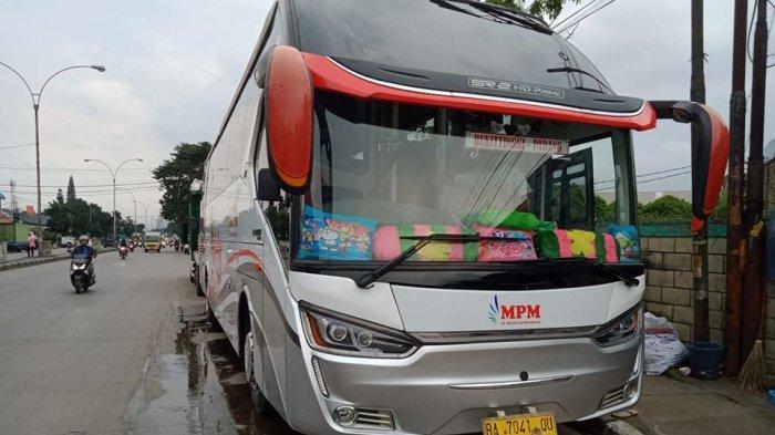 Cegah Corona Masuk Sumbar, Bus PO MPM Berhenti Beroperasi, Uang Tiket Dikembalikan