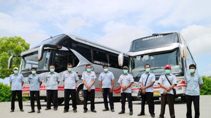 Cegah Penyebaran Covid-19, White Horse Sediakan Hand Sanitizer di Seluruh Armada Bus