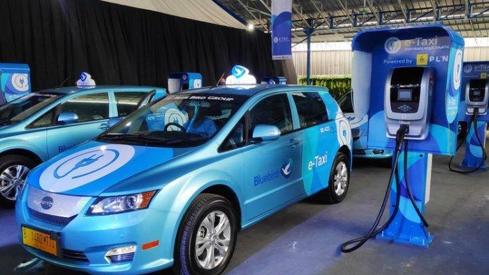 Bluebird Tambah Lagi 200 Unit Armada untuk Taksi Listrik