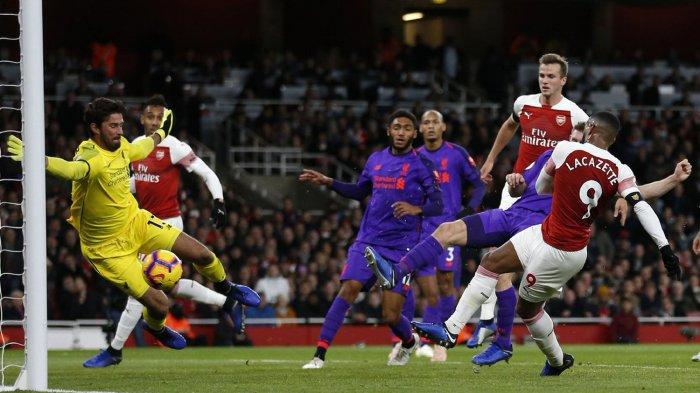 Siaran Langsung Liga Inggris Malam Ini, Live Streaming Mola TV, Duel Arsenal vs Liverpool
