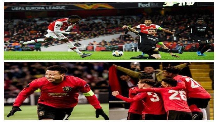 Hasil Liga Europa: Mainkan Pemain Muda, Manchester United dan Arsenal Tumbang