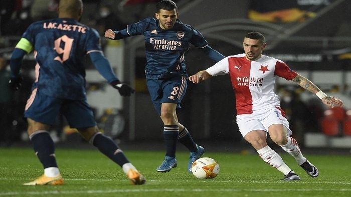 HASIL Liga Eropa, Hancurkan Slavia Praha, Arsenal Jumpa Pasukan Unai Emery di Semifinal