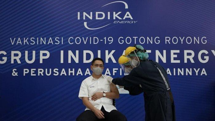 Indika Energy Mulai Vaksinasi Gotong Royong untuk 21.650 Karyawan dan Keluarga