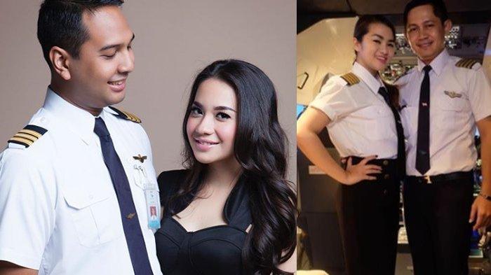4 Artis Cantik Ini Sukses Jatuh ke Pelukan Pilot Ganteng Indonesia, Jadi Wanita Beruntung!