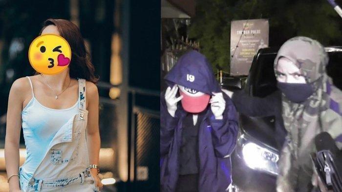 Artis FTV berinisial HH yang ditangkap petugas di Medan karena diduga terlibat prostitusi. Artis HH ditangkap bersama seorang pria di kamar sebuah hotel berbintang di Medan.