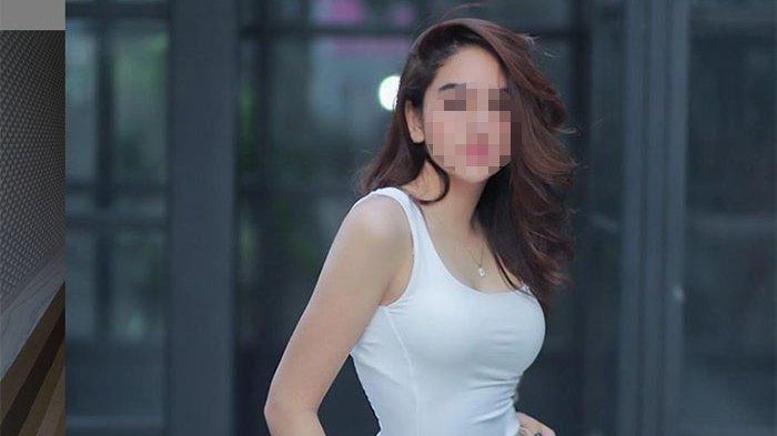Artis cantik FTV, HH (23), yang ditangkap polisi di Medan karena dugaan terlibat prostitusi.