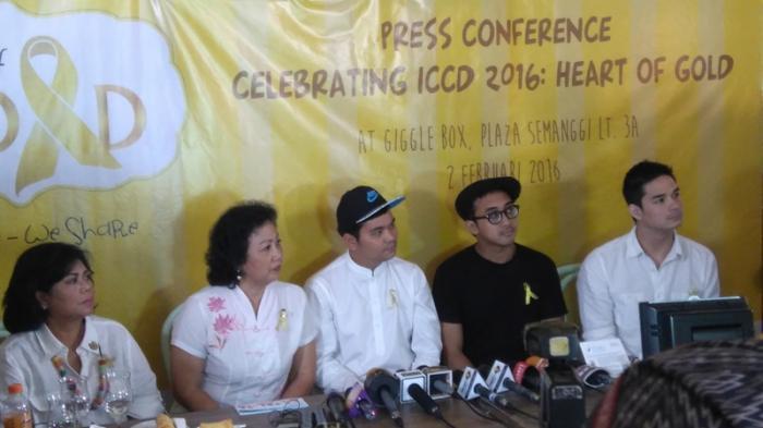 Indra Bekti Buru-buru Tinggalkan Acara Yayasan Kasih Anak Kanker ...