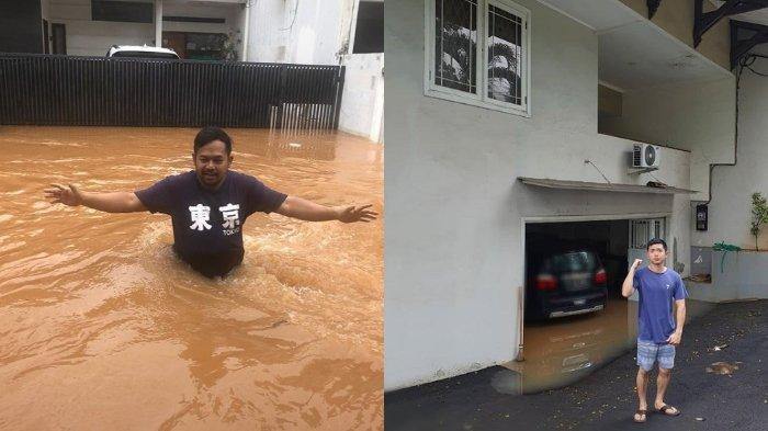 Banjir di Jakarta juga Rendam Sejumlah Rumah Milik Artis, Bedu Hingga Nicky Tirta