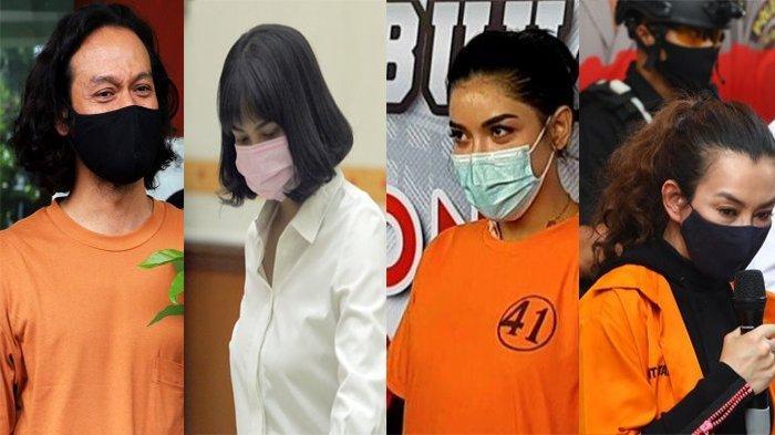 KALEIDOSKOP 2020 - Artis Terjerat Kasus Narkoba: Dwi Sasono, Lucinta Luna hingga Millen Cyrus