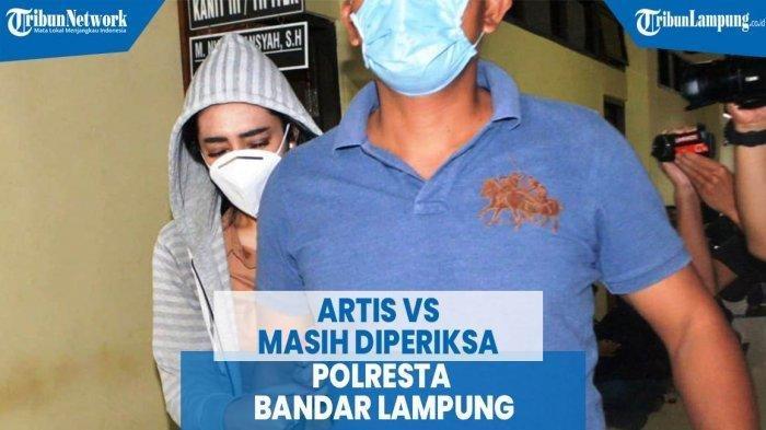 Artis VS yang Diduga Terlibat Prostitusi Online di Lampung
