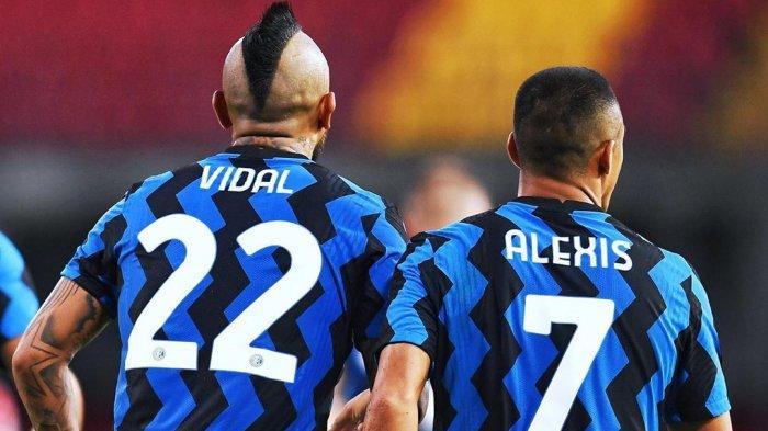 Arturo Vidal dan Alexis Sanchez kembali bermain dalam satu tim