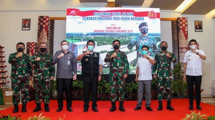 Arwana Citramulia Buka Pabrik Keramik Baru di Sumatera Selatan