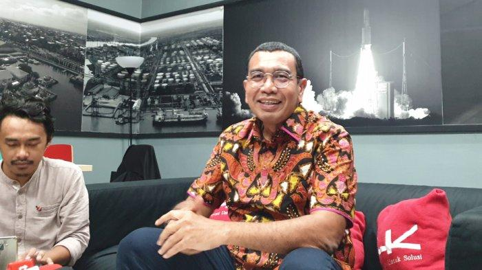 Arya Sinulingga di kantor Kementerian BUMN, Jakarta, Senin (13/1/2020).