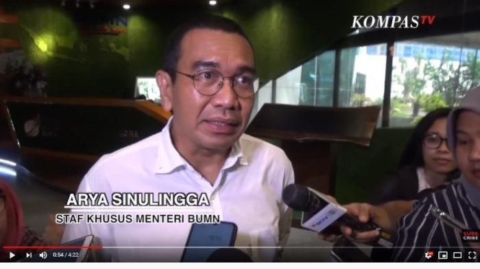 Staf Khusus Menteri BUMN, Arya Sinulingga