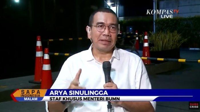 Staf Khusus Kementerian BUMN, Arya Sinulingga