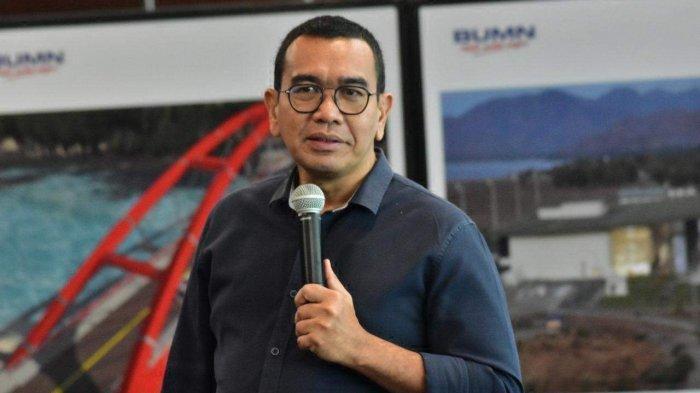 Ketua Satgas Sentra Vaksinasi Bersama BUMN, Arya Sinulingga.