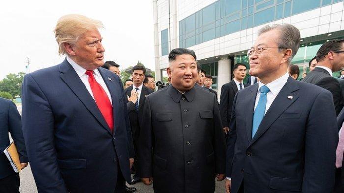 Korea Selatan Berharap Donald Trump Bisa Berdialog dengan Kim Jong Un November Ini