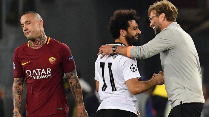 AS Roma vs Liverpool FC: Punya Andil atas Gol Sadio Mane, Radja Nainggolan Minta Maaf pada Suporter