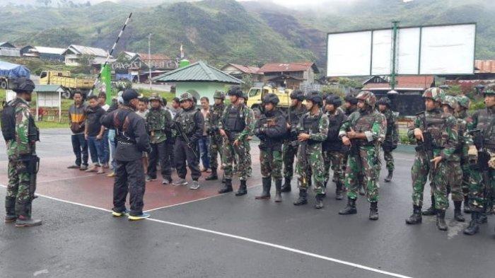Satgas Pamtas RI-PNG Yonif Raider 514/SY Bantu Pengamanan Jalur Puncak Jaya-Wamena