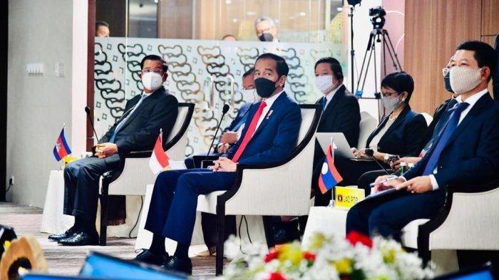 Di Forum ASEAN, Presiden Jokowi Minta Junta Militer Myanmar Hentikan Kekerasan ke Warga Sipil