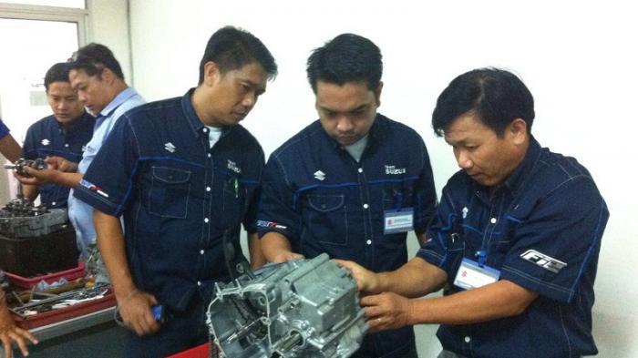 Distributor Suzuki dari 4 Negara Ini Berguru ke Indonesia, Pelajari Teknologi All New Satria Injeksi