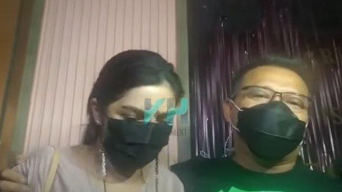 Ashanty dan Anang Hermansyah saat ditemui oleh awak media