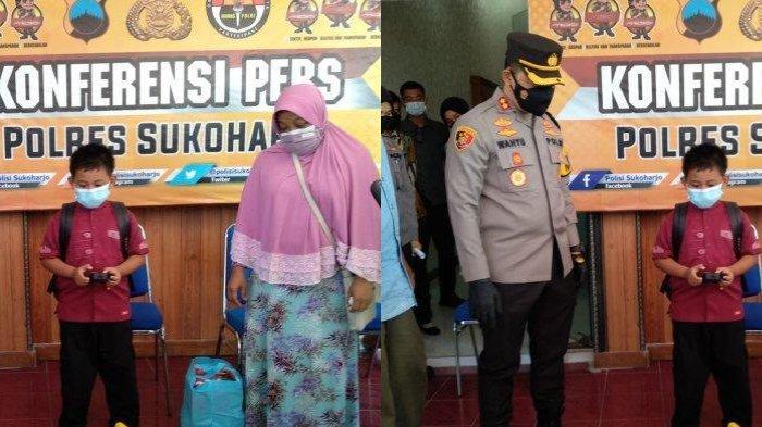 Kapolres, Dandim Hingga Jokowi Santuni Ghifari, Bocah yang Kehilangan Ayah Ibunya karena Covid-19