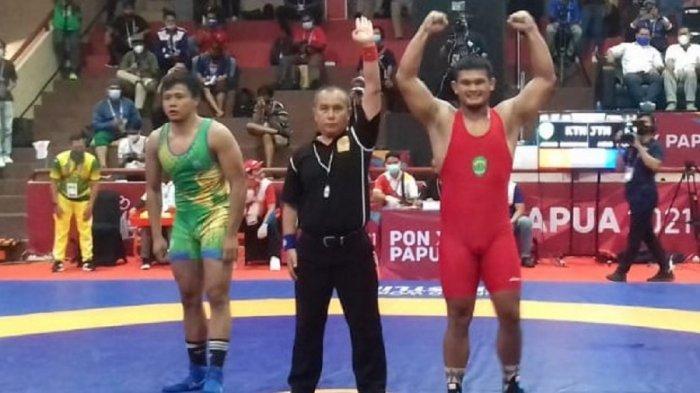 Tim Gulat Jawa Timur Juara Umum PON XX Papua, Empat Provinsi Ini Belum Mendapat Medali