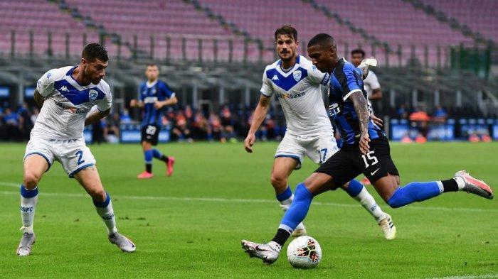 Hasil Akhir Inter Milan vs Brescia, Liga Italia, Eks Pemain MU Gemilang, Tuan Rumah Menang Telak 6-0