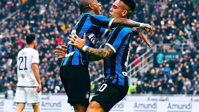 Ashley Young dan Lautaro Martinez