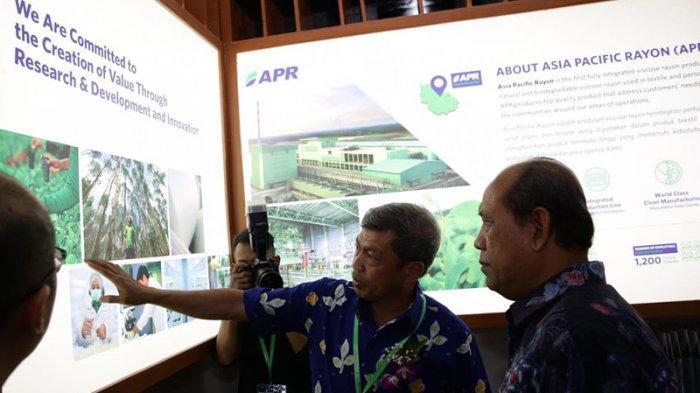 APR Pamerkan Produk Viscose-Rayon Berkelanjutan di Indo Intertex 2019