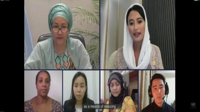 Mewakili Pemuda Se-Asia Tenggara, Dyah Roro Esti Bicara di Forum PBB
