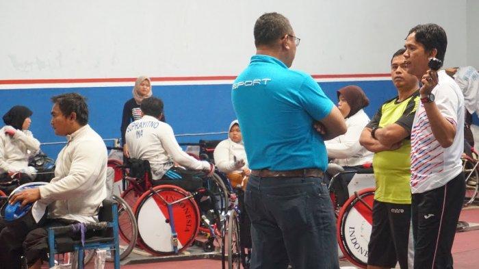 Waspadai Cina, Tim Anggar Kursi Roda Indonesia Optimistis Menang di Kategori B