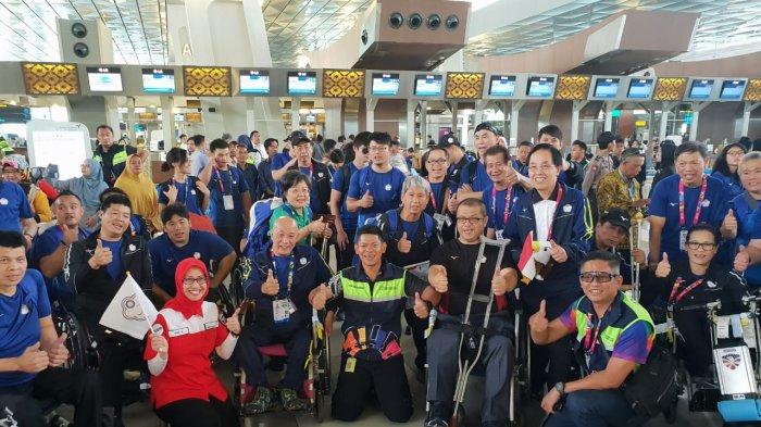 Tangis Haru Hingga Flash Mob Warnai Pelepasan Kontingen Asian Para Games 2018