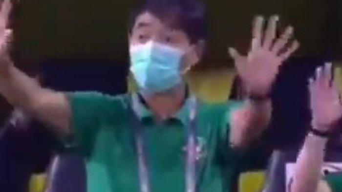 Asisten Shin Tae-yong Rapikan Sikap Pemain Timnas Indonesia yang Buyar Karena Insiden Salah Lagu