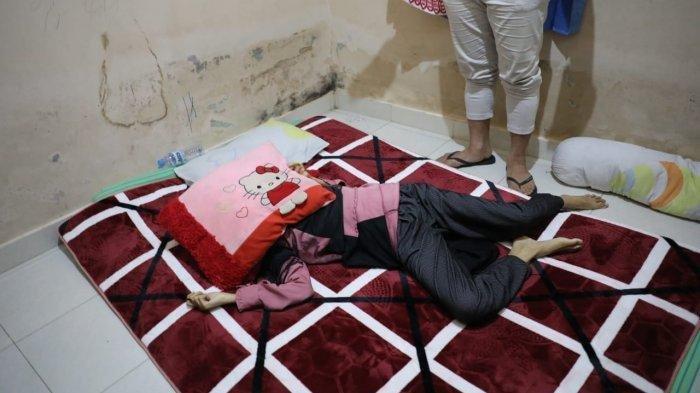 Mahasiswi UIN Alauddin Makassar, Asmaul Husna, ditemukan telah menjadi mayat di kamar di Jl di Perumahan Citra Elok, Kelurahan Tamangapa, Kecamatan Manggala. Tribun Timur/Sanovra JR
