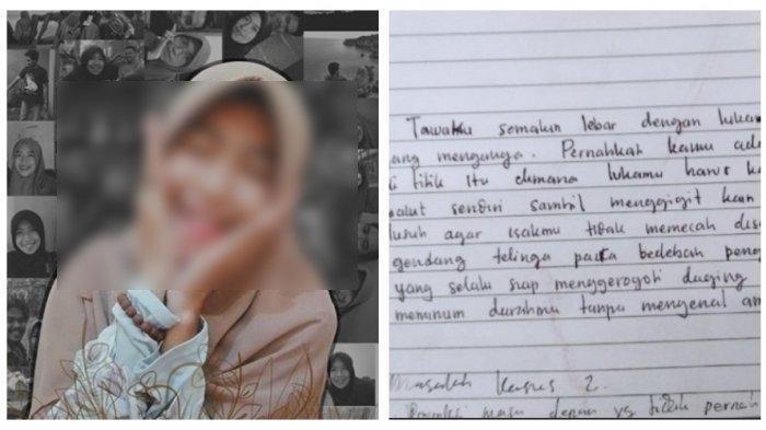 Mahasiswi Dibunuh Pacar di Makassar: Terungkap Motif Pelaku hingga Beredar Curhatan Pilu Korban