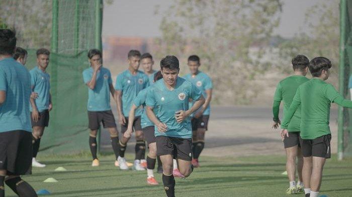 Asnawi Mangkualam sudah berlatih bersama timnas Indonesia pada Rabu (19/5/2021). Bolanas.bolasport.com/PSSI.org