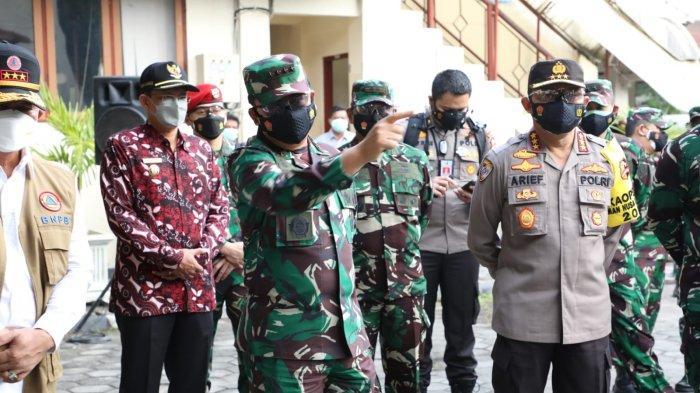 Panglima TNI Cek Sistem Penanganan Pasien Covid-19 di Asrama Haji Sleman