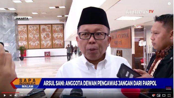 Asrul Sani Berharap Keberadaan Dewan Pengawas KPK Tak Ada Konflik Kepentingan atau Kesan Politisasi