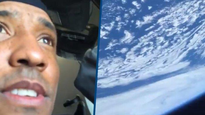 Viral di Medsos, Astronot NASA Bagikan Video Menakjubkan saat Pertama Melihat Bumi dari Luar Angkasa