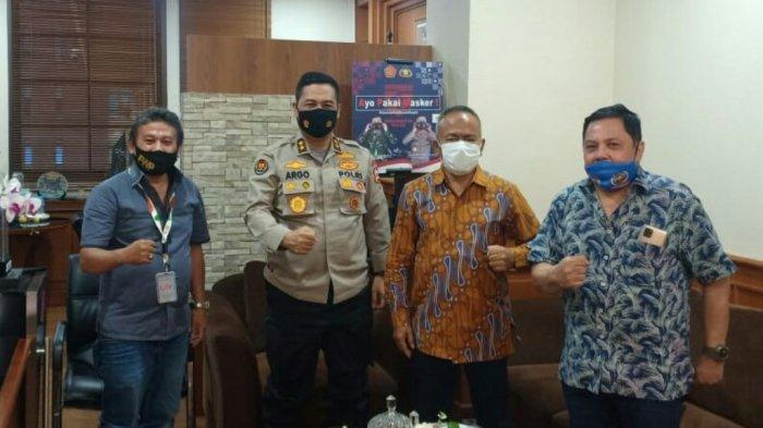 Mabes Polri Terima Ketum PWI Pusat, Argo Yuwono: Wartawan Peliput Demo Bakal Diberi Rompi