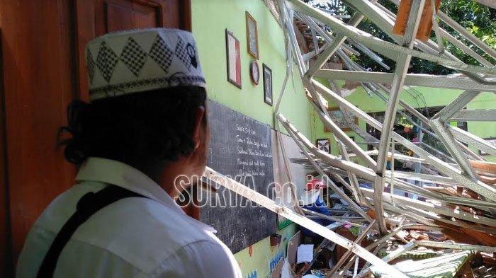 2 Hari Pasca Kunjungan Nadiem Makarim, Polda Jatim Tetapkan Dua Tersangka Kasus Atap SD Ambruk