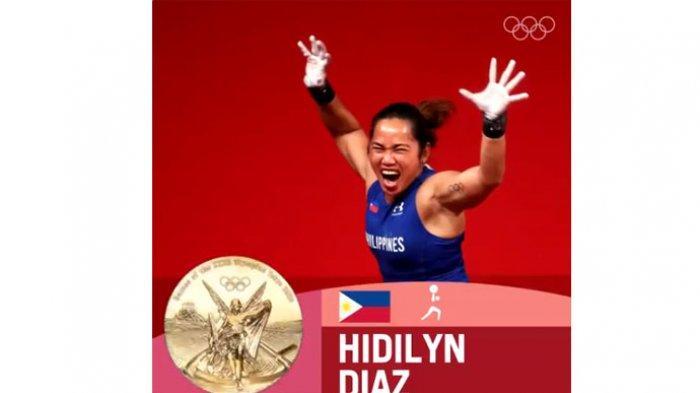 Update Klasemen Medali Olimpiade Tokyo 2020, Filipina Susul Indonesia Berkat Medali Emas Bersejarah