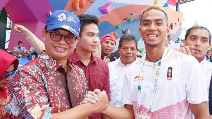 Sabri, Atlet Kaltara Peraih Medali Perak Asian Games  Dijanjikan Pekerjaan di Satpol PP