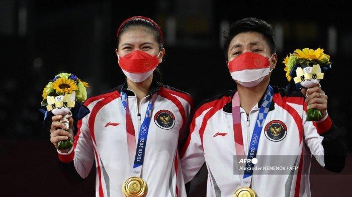 Update Perolehan Medali Olimpiade 2021 Usai Greys/Apri Raih Emas, Indonesia Melesat ke Atas